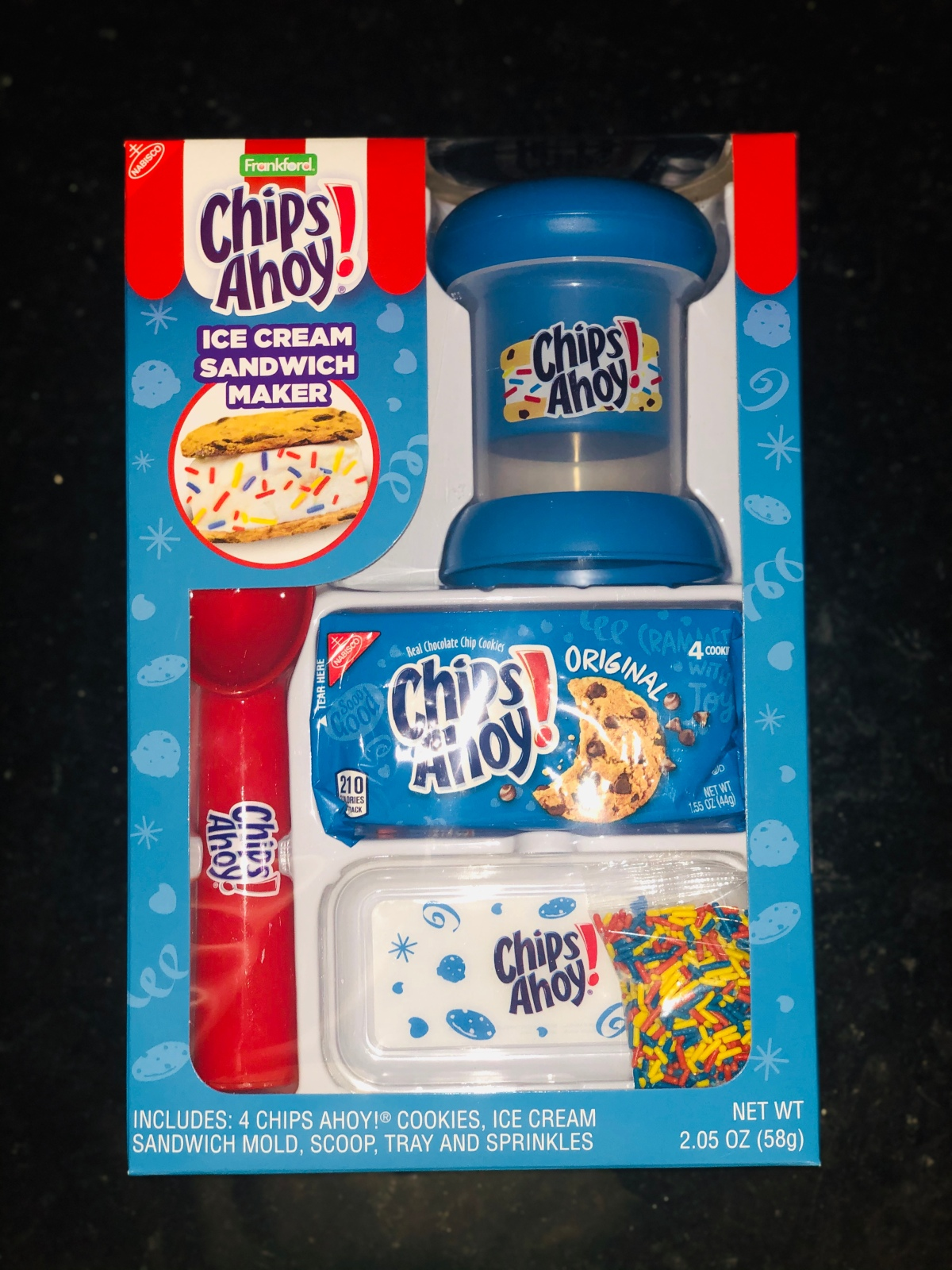 The Inside Scoop on Chips Ahoy's Ice Cream Sandwich Maker