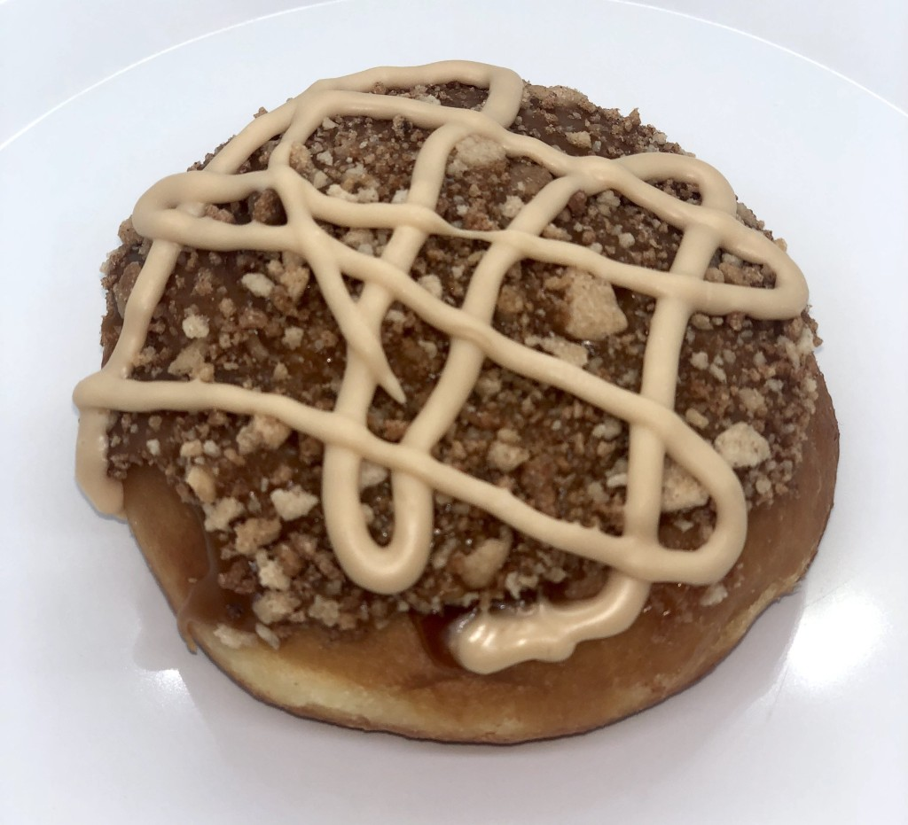 Krispy Kreme Dutch Apple Pie doughnut