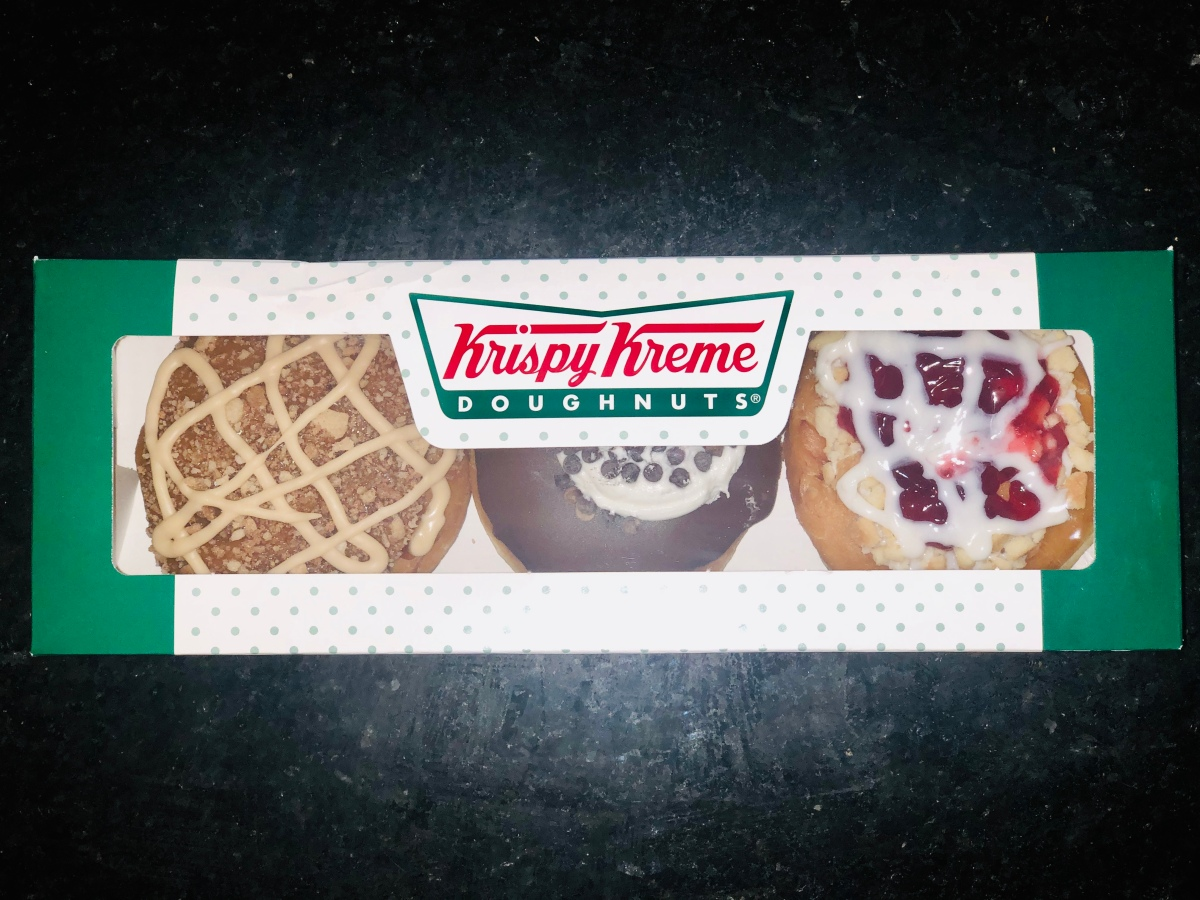 "Eating Krispy Kreme Is ""Easy As Pie"""