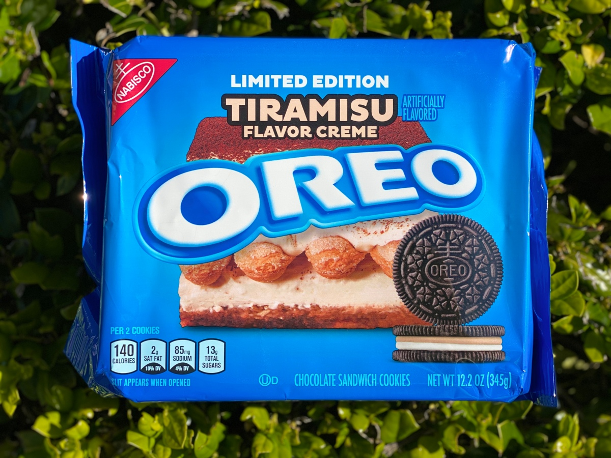 Limited Edition Tiramisu Oreos in Stores Now