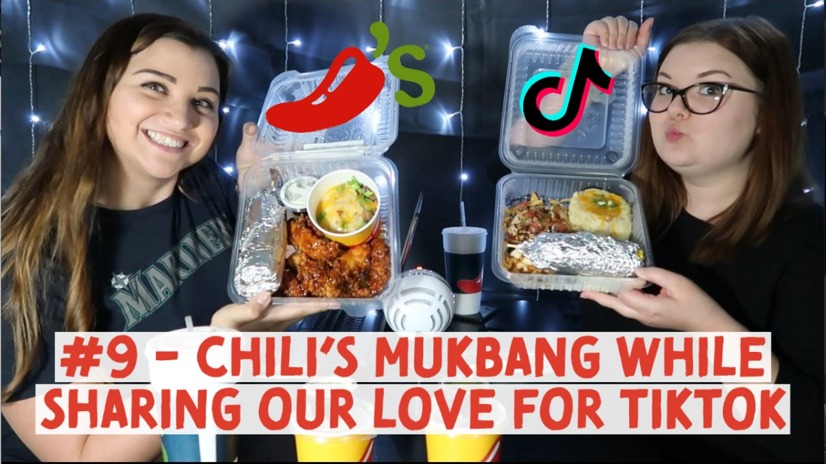 #9 – Chili's Mukbang While Sharing Our Love for TikTok